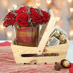 Wooden Hamper For U