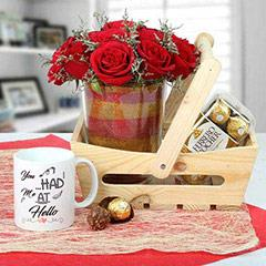 Basketful Attractive Gifts
