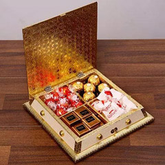 Flavored Chocolates In A Box