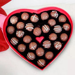 Heart Shape Valentine Chocolates