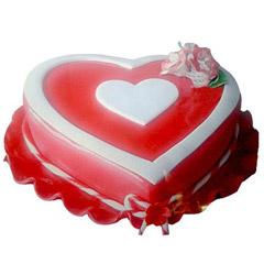 Marvelous Heart Shape Cake