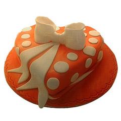 2 N Half Kg Heartshape Cake
