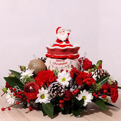 Christmas Wishes Flower Arrangement