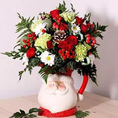 Santa Special Flower Arrangement