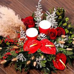 Xmas Special Center Table Flowers