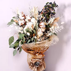 Graceful Dry Flower Bouquet