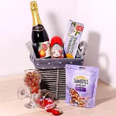 Sparkling Juice Gift Basket