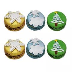 Assorted Christmas Macarons