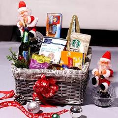 Starbucks Coffee And Snack Hamper