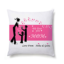 Comforting Personalised Cushion For Mom