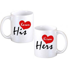 His & Hers Coffee Mugs