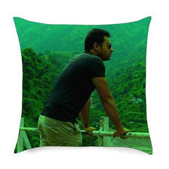 Customize Yourself On A Cushion