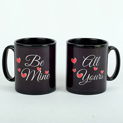 Black Couple Mugs