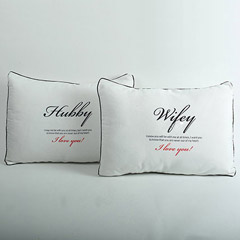 Couples Pillow Cover