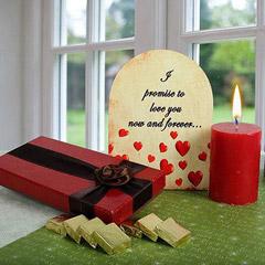Chocolates N Candle Combo