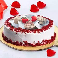 Love Photo Cake