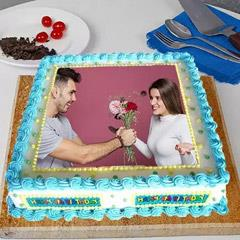 Perfect Frame Photo Cake