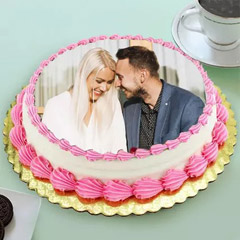 In Love Photo Cake