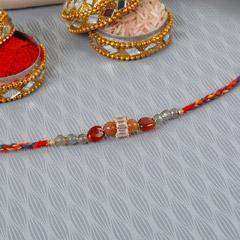 Simple Beads Rakhi