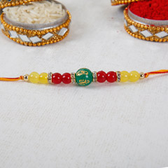 Gorgeous Beads Rakhi