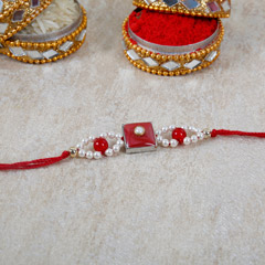 Traditional Beaded Rakhi