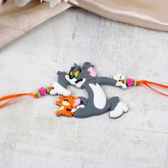 Cute Tom And Jerry Rakhi
