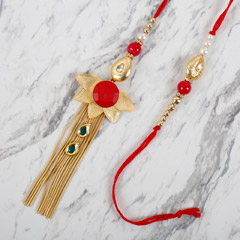 Striking Lumba Rakhi Set