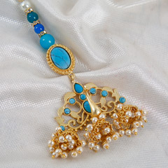 Designer Peacock Lumba Rakhi