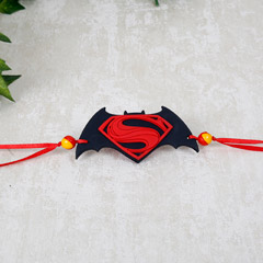 Classic Superman Batman Rakhi