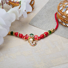 Antique Ganesha Rakhi
