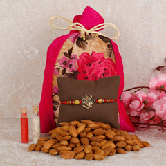 Almonds And Rakhi Combo