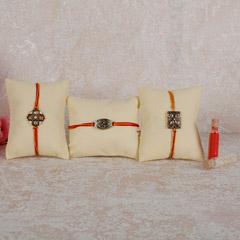 Set Of 3 Designer Rakhis