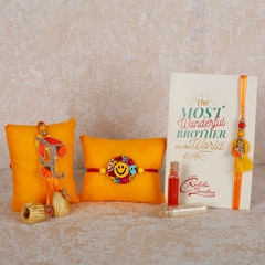 Bright Rakhis- Set Of 3