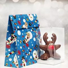 Secret Santa Reindeer Chocolate Pack