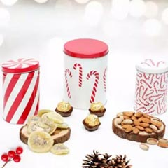 Cheerful And Yum Secret Santa Jar