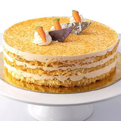 500gm Fruity Carrot Cake