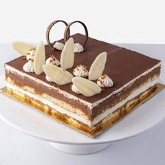 Half Kg Lip-Smacking Mocha Cake