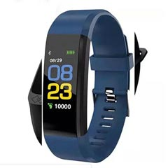 Blue N Black Activity Tracker