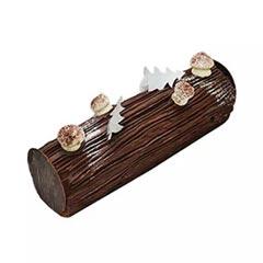 Chocolate Christmas Log Cake 8 Portions