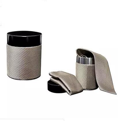 Elegant Tie and Handkerchief Set