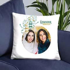 Ramadan Greetings Photo Cushion
