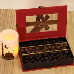 Special Chocolate Box N Ramadan Candle