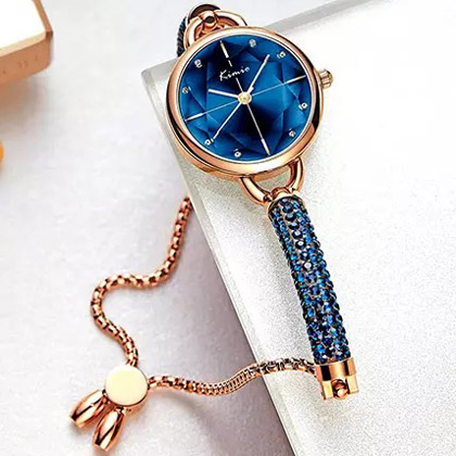 KIMIO Shining Blue Watch