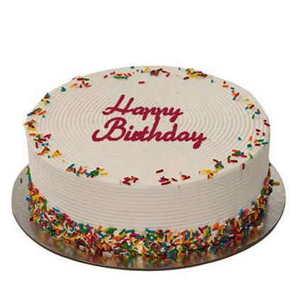 1Kg Rainbow Birthday Cake