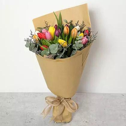 Beautiful Tulips Bouquet
