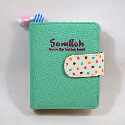 Colourful Polka Dots Wallet