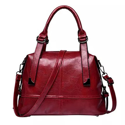 Elegant Maroon Shoulder Bag