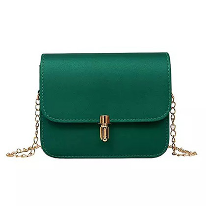 Crossbody Green Bag