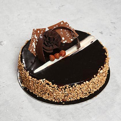Eight Portion Rose Noir Cake