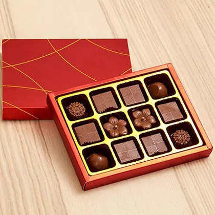 Box Of Assorted Rich Belgian Chocolates